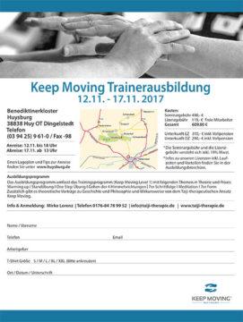 Keep Moving Switzerland | Taiji-Therapie bei Bewegungsstörungen und Parkinson · Trainerausbildung